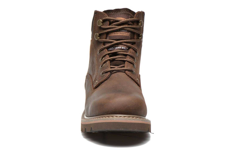 Bottines et boots Dockers Yanis 1 Marron vue portées chaussures