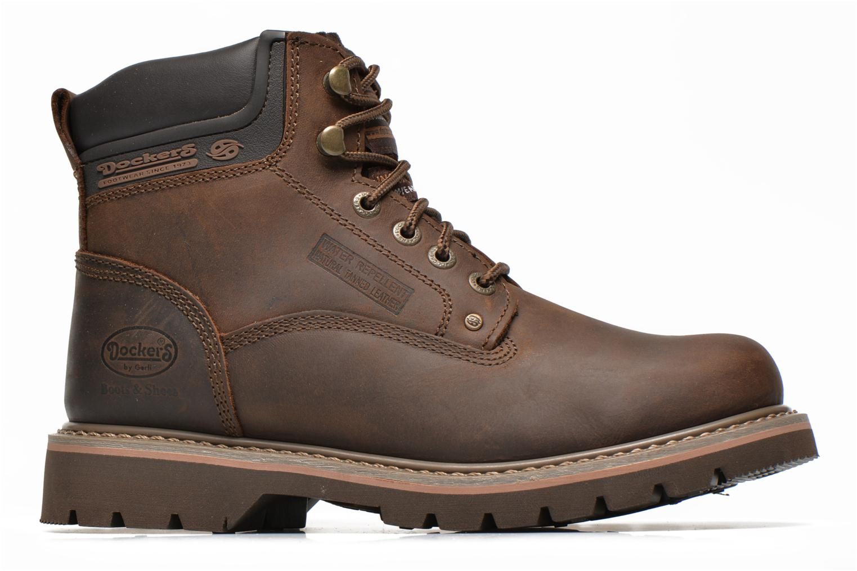 Bottines et boots Dockers Yanis 1 Marron vue derrière