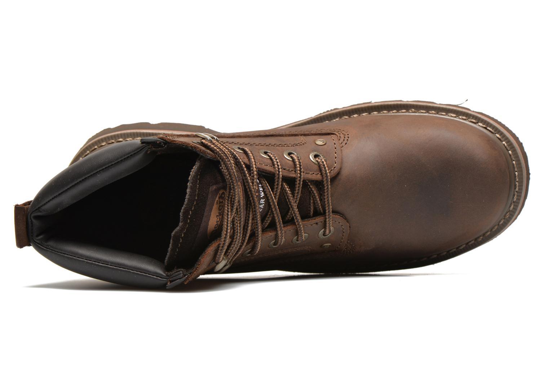 Bottines et boots Dockers Yanis 1 Marron vue gauche