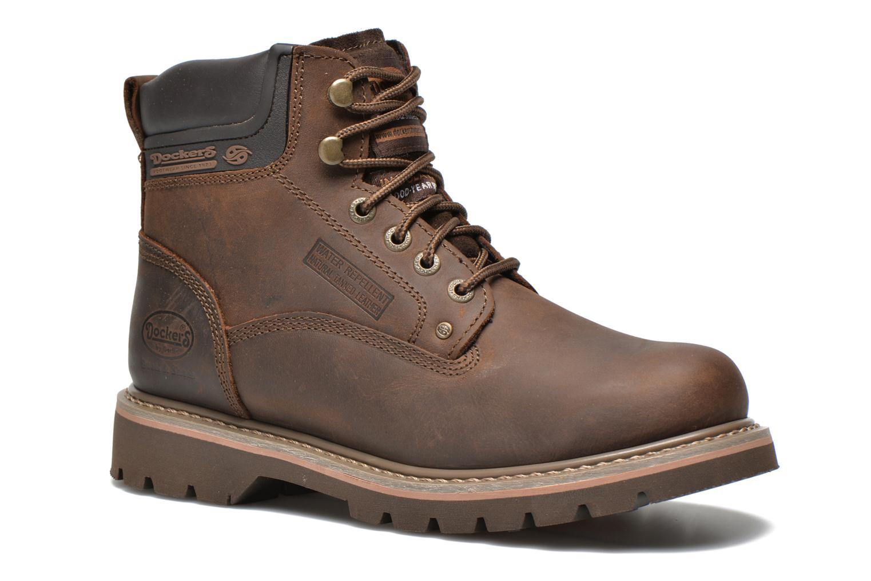 Bottines et boots Dockers Yanis 1 Marron vue détail/paire