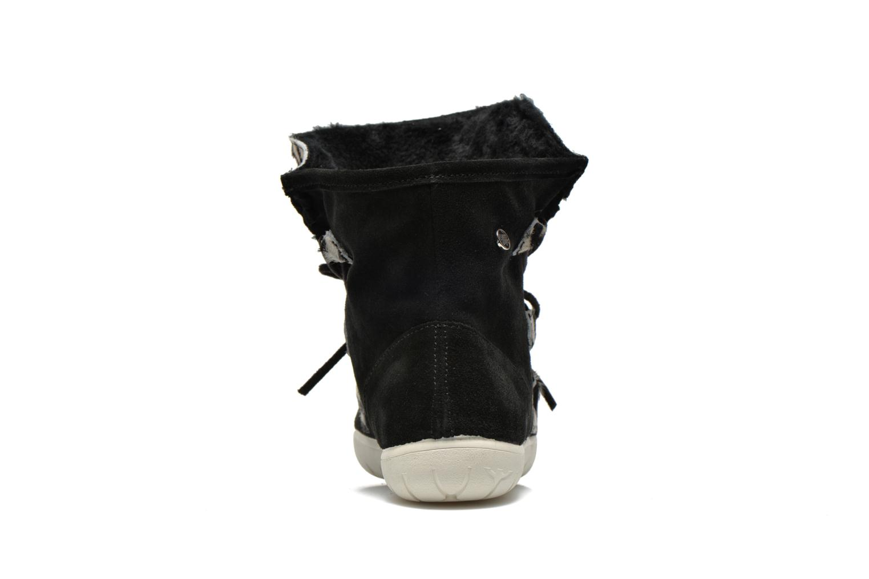 Boots en enkellaarsjes Yum Gum Aspen Animal Zwart rechts