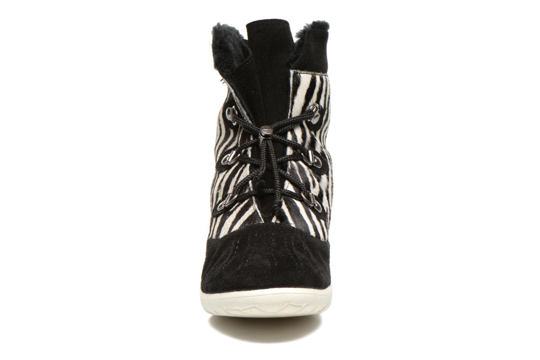 Stiefeletten & Boots Yum Gum Murren animal schwarz schuhe getragen