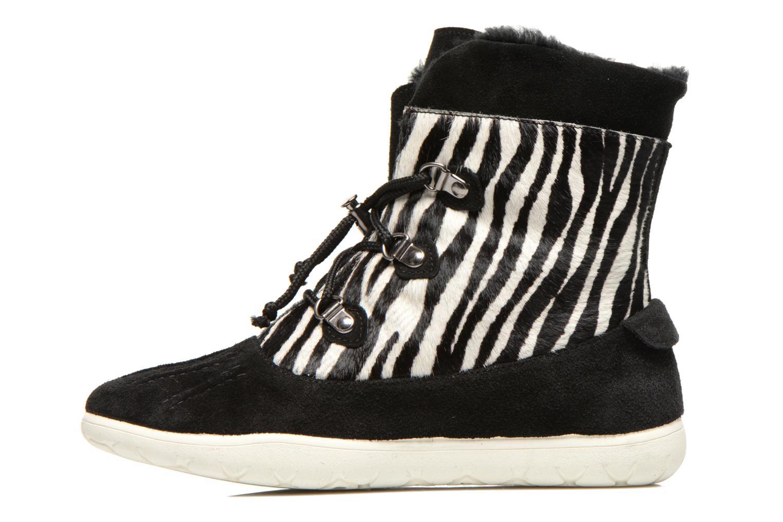 Stiefeletten & Boots Yum Gum Murren animal schwarz ansicht von vorne