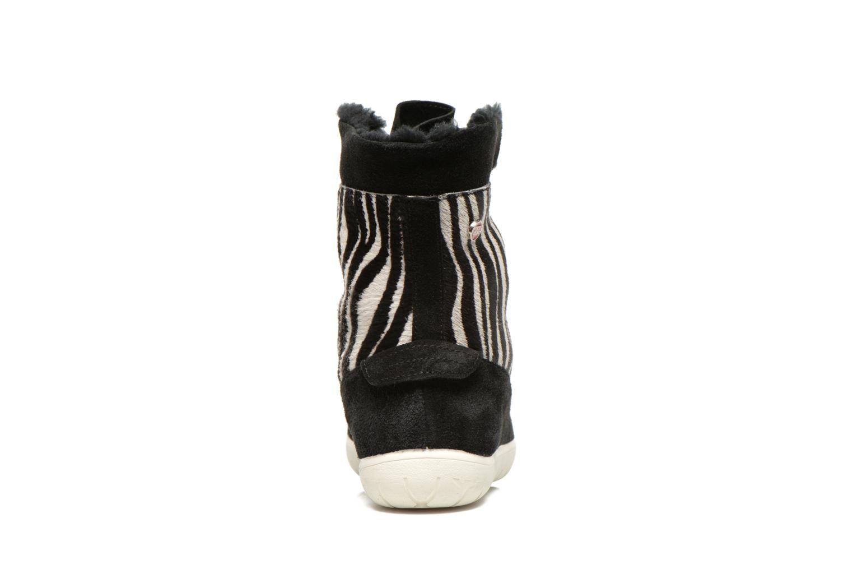 Stiefeletten & Boots Yum Gum Murren animal schwarz ansicht von rechts