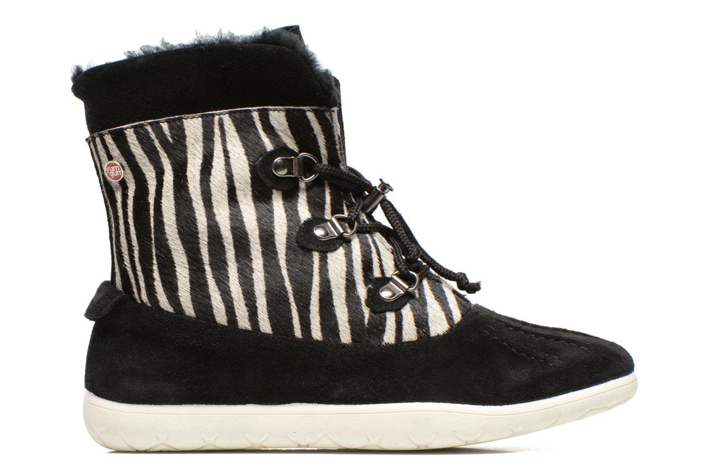Stiefeletten & Boots Yum Gum Murren animal schwarz ansicht von hinten