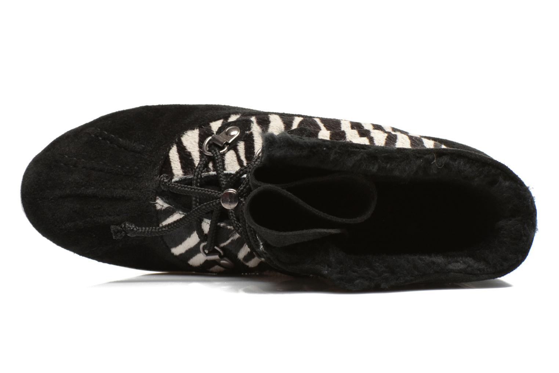 Stiefeletten & Boots Yum Gum Murren animal schwarz ansicht von links