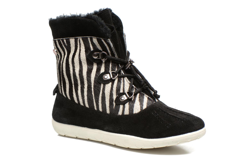 Stiefeletten & Boots Yum Gum Murren animal schwarz detaillierte ansicht/modell