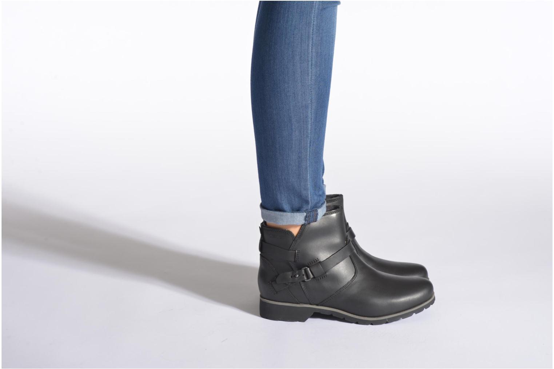 Bottines et boots Teva Delavina Ankle Noir vue bas / vue portée sac