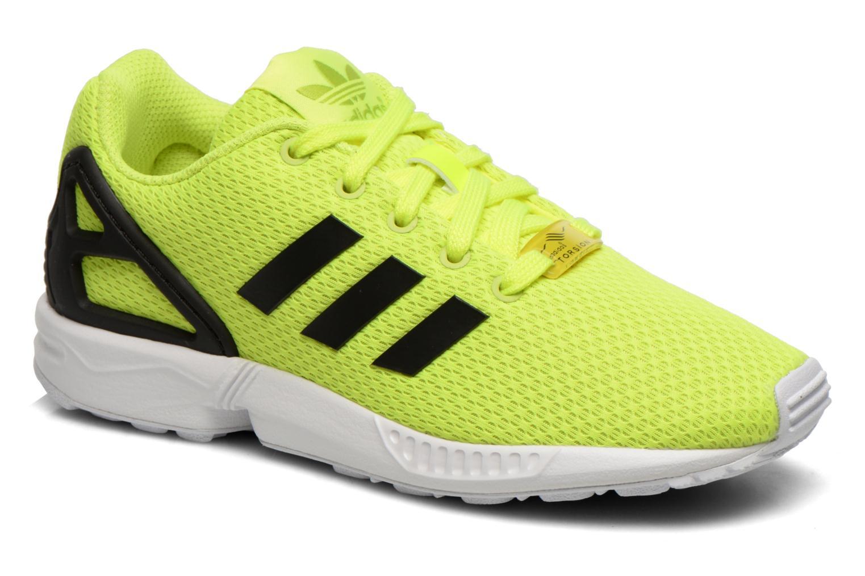 adidas zx flux zwart geel
