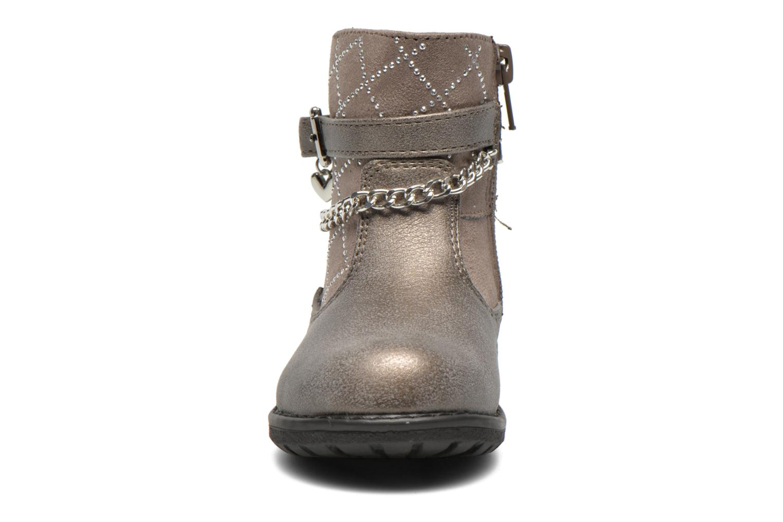Bottes Bopy Loki Argent vue portées chaussures