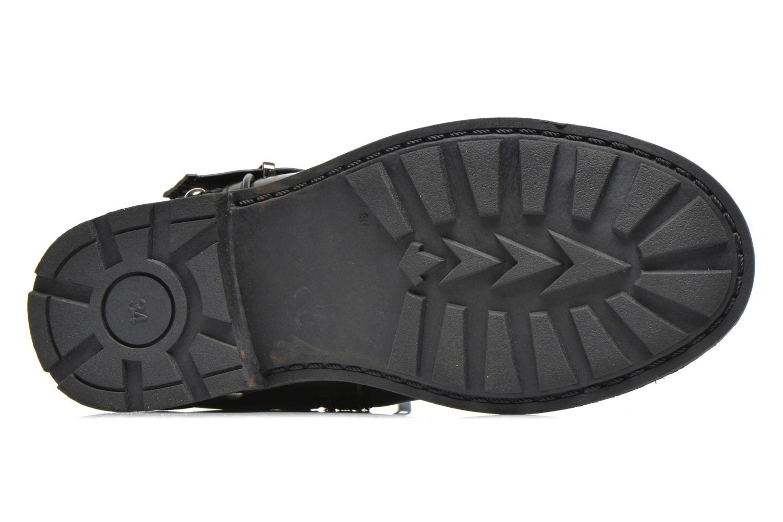 Stiefel Bopy Iplay schwarz ansicht von oben