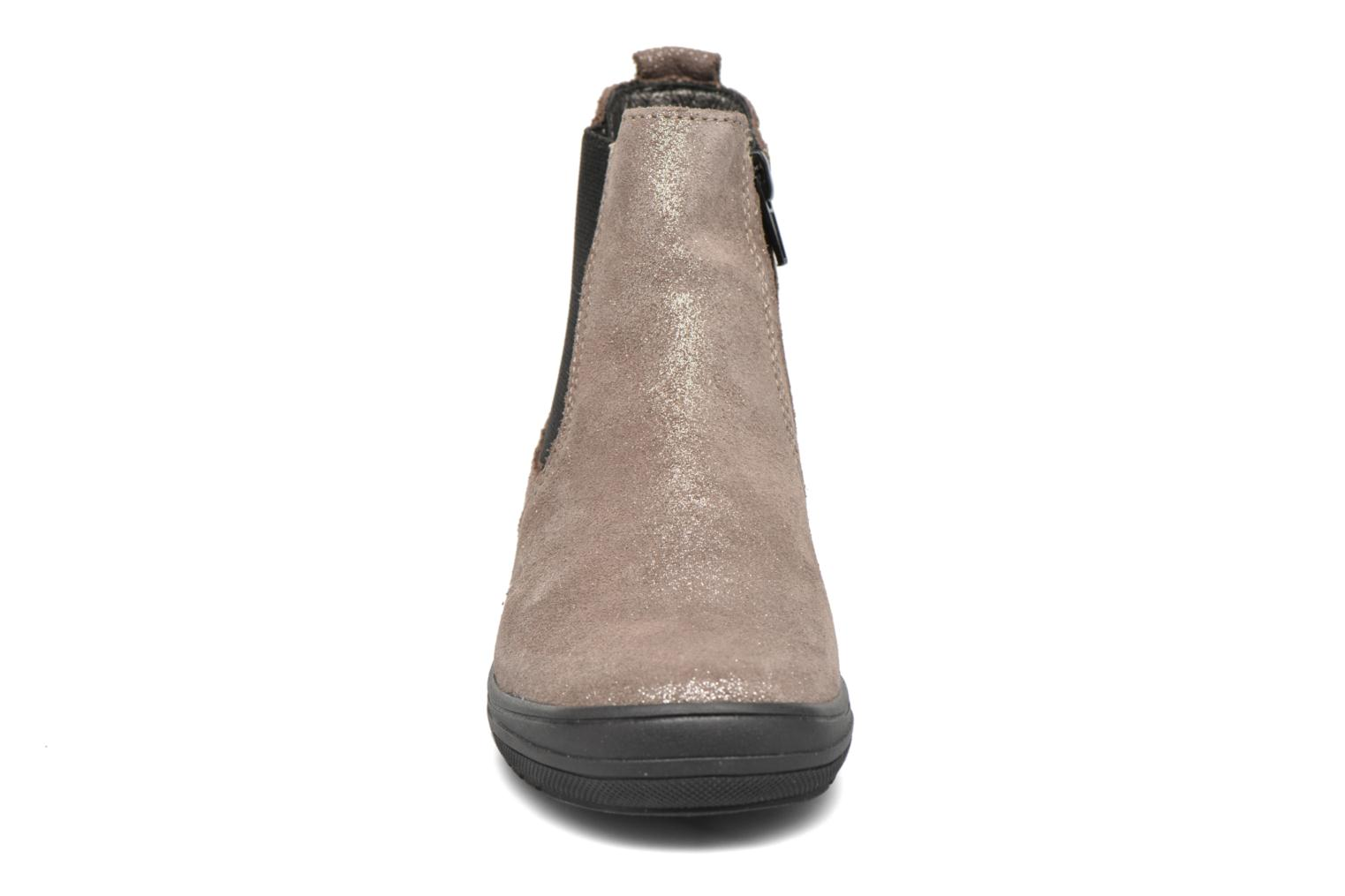 Ankle boots Bopy Snif Beige model view