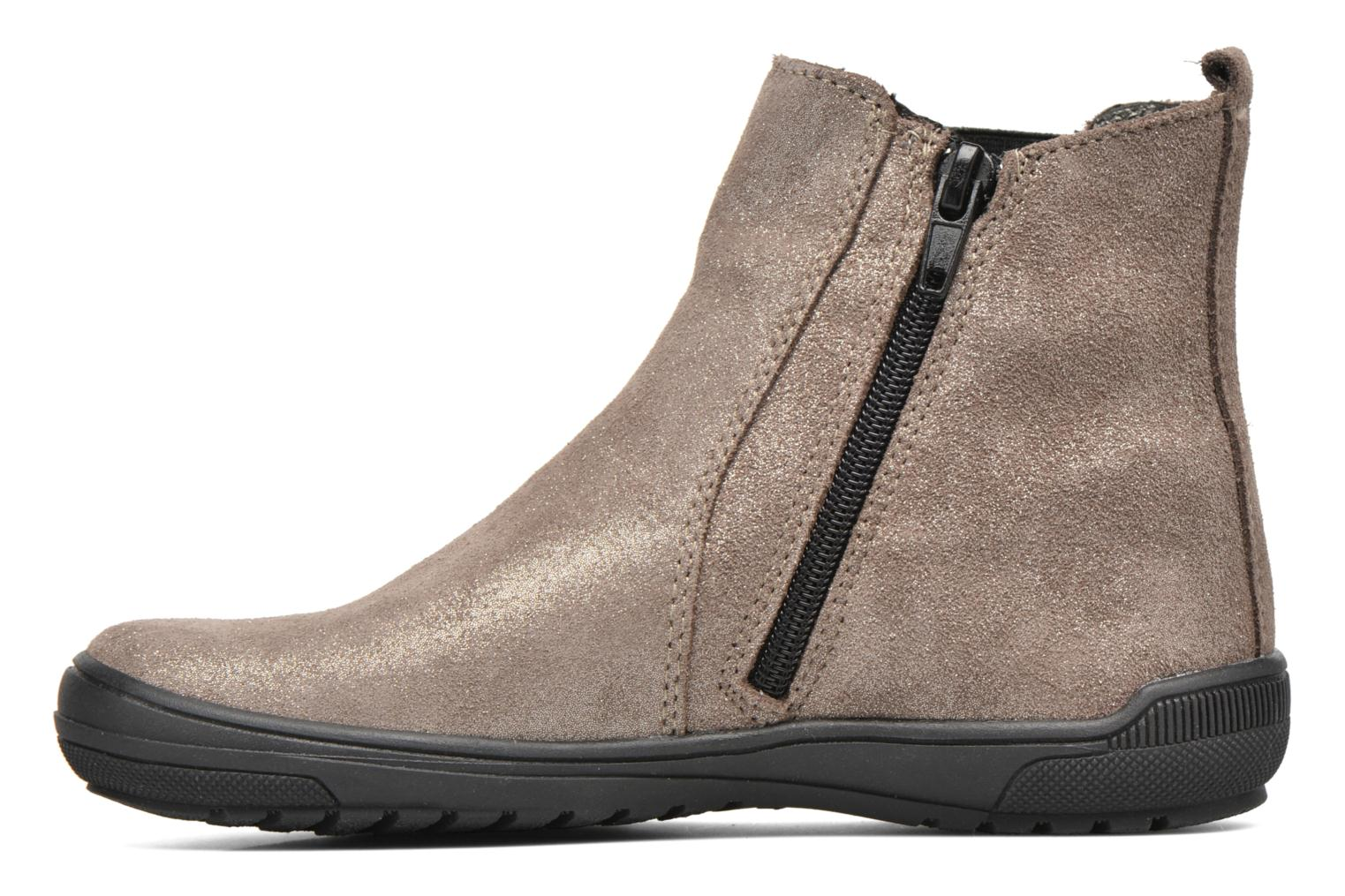 Ankle boots Bopy Snif Beige front view