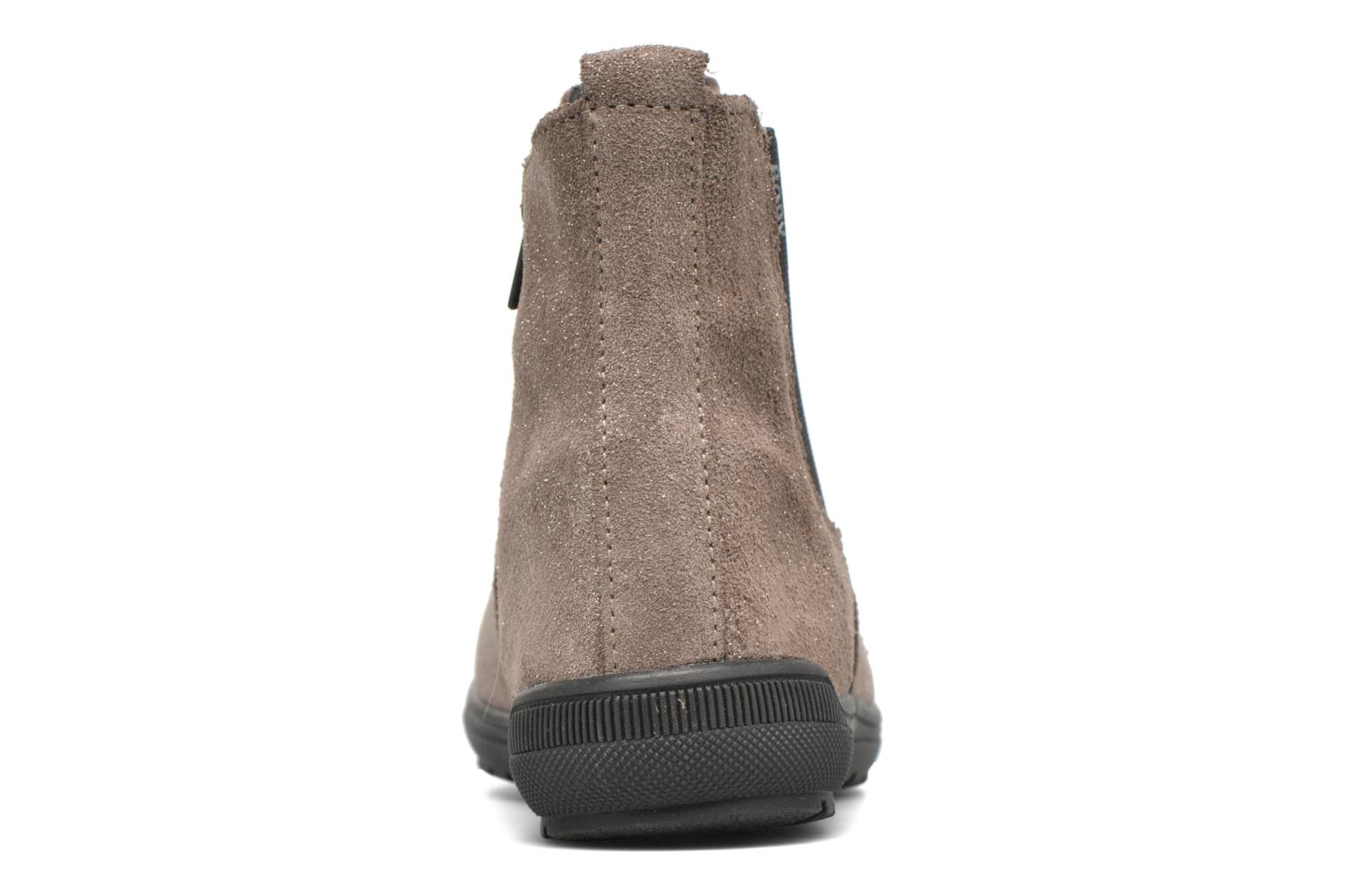 Ankle boots Bopy Snif Beige view from the right