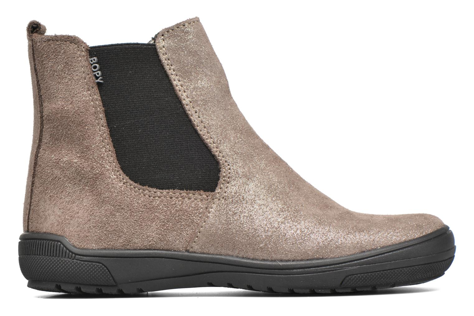 Ankle boots Bopy Snif Beige back view