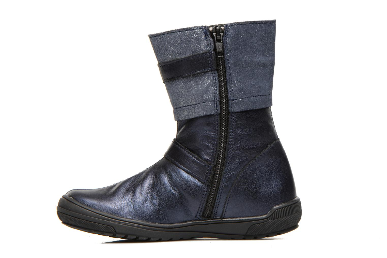 Stiefel Bopy Souris blau ansicht von vorne