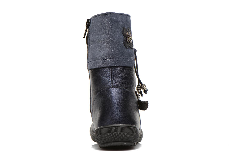 Stiefel Bopy Souris blau ansicht von rechts