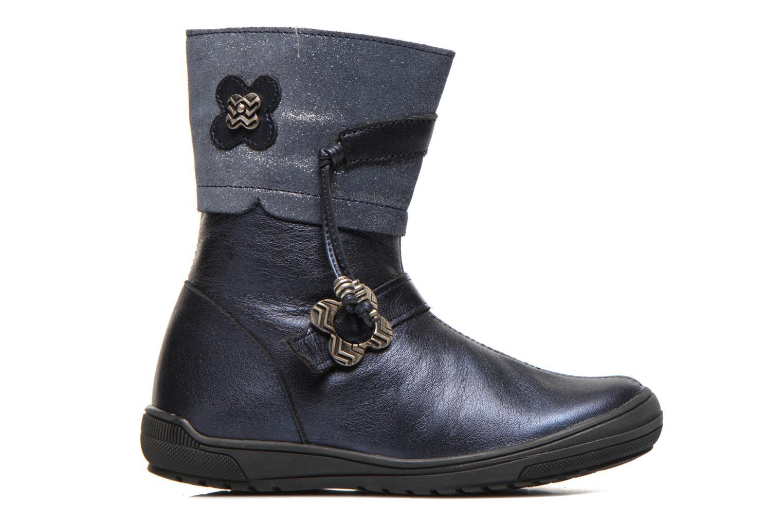 Stiefel Bopy Souris blau ansicht von hinten