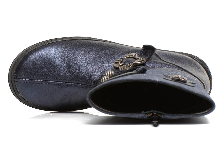Stiefel Bopy Souris blau ansicht von links