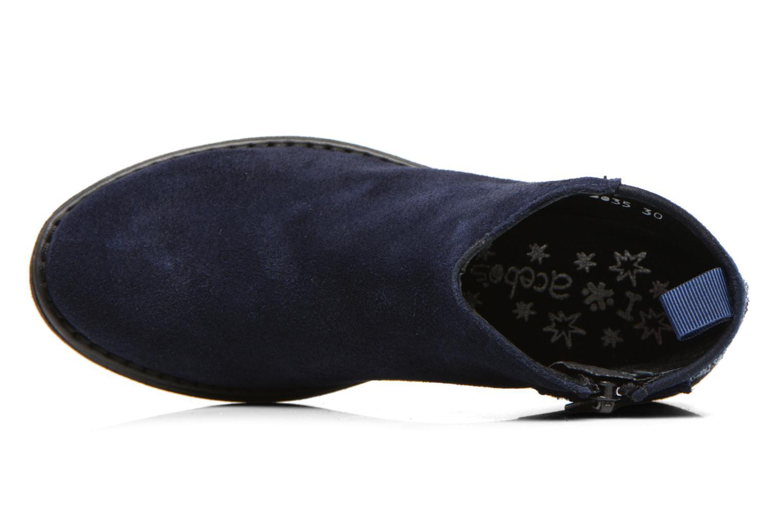 Bottines et boots Acebo's Olivia Bleu vue gauche