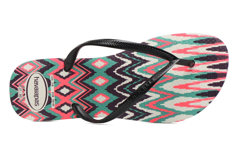 Slim Tribal White Black Pink