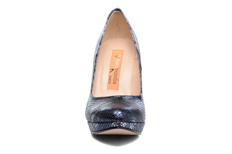 High heels Anna Volodia Copla Blue model view