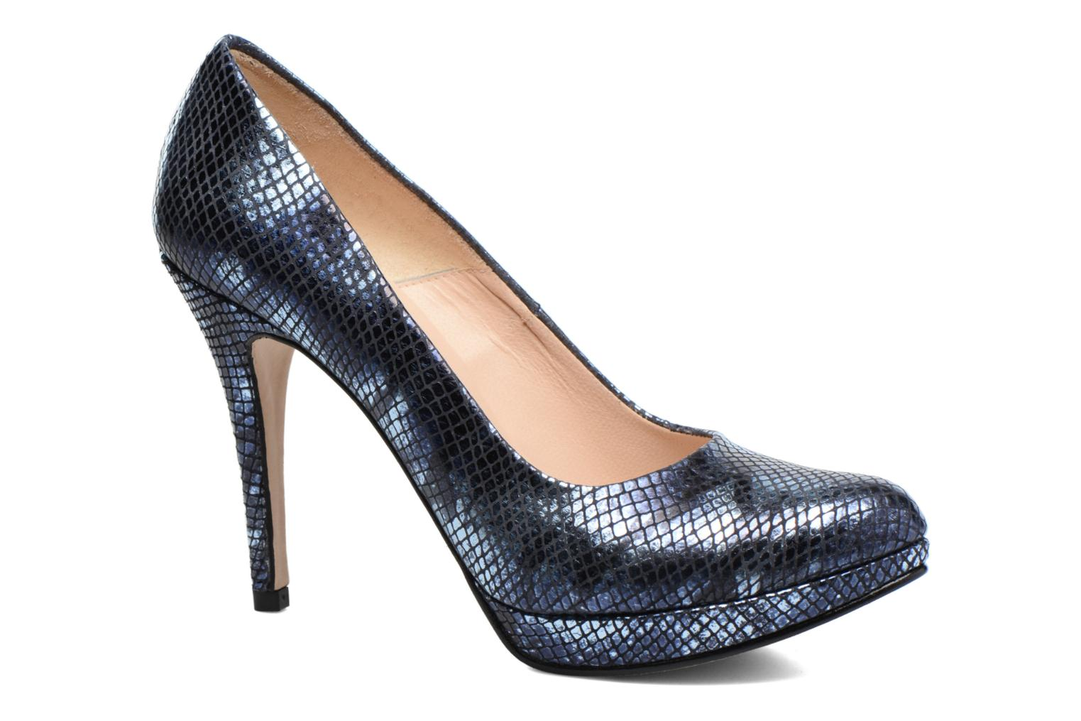 High heels Anna Volodia Copla Blue detailed view/ Pair view