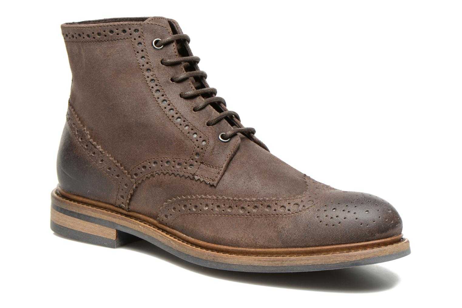 Bottines et boots Marvin&Co Thermin Marron vue détail/paire