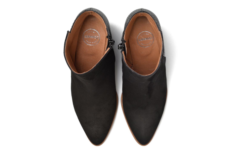 Bottines et boots Made by SARENZA Toundra Girl Bottines à Talons #12 Noir vue portées chaussures