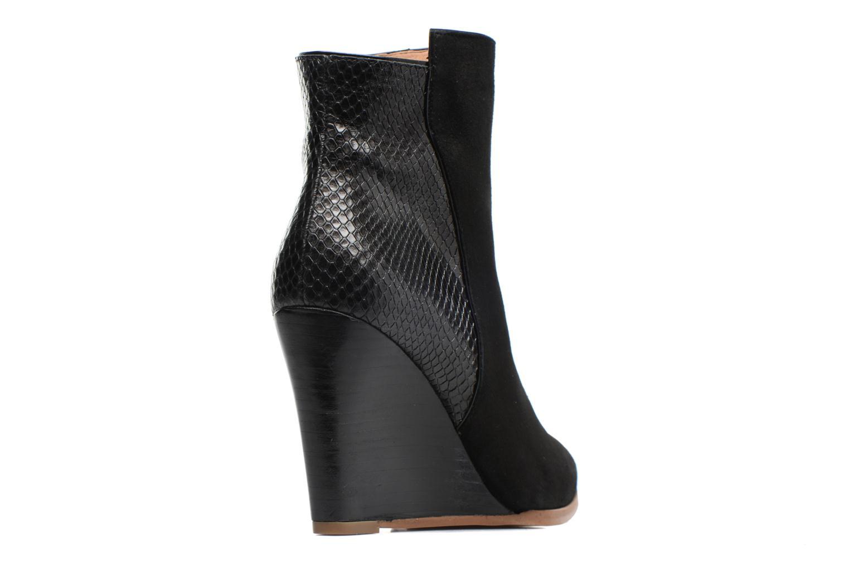 Bottines et boots Made by SARENZA Toundra Girl Bottines à Talons #12 Noir vue face