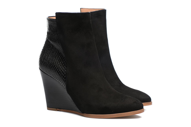 Bottines et boots Made by SARENZA Toundra Girl Bottines à Talons #12 Noir vue derrière