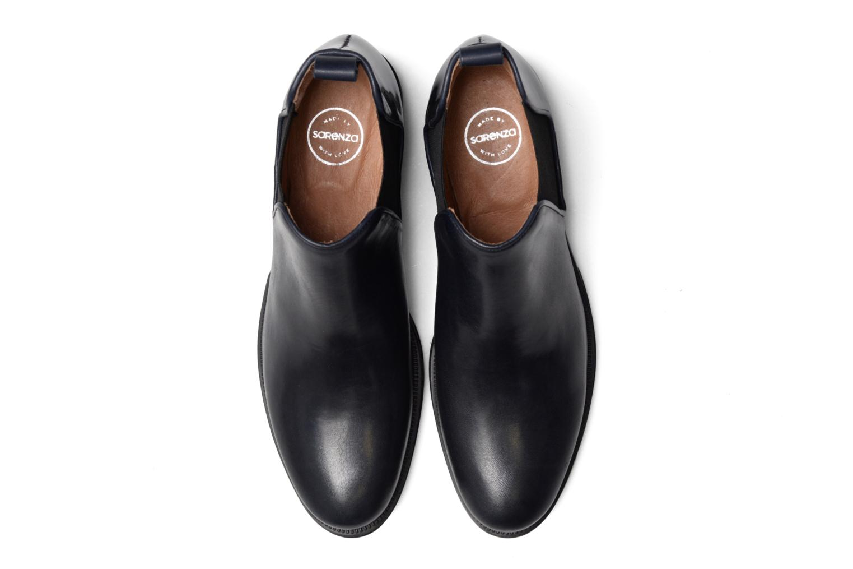Bottines et boots Made by SARENZA Busy Girl Bottines Plates #4 Bleu vue portées chaussures