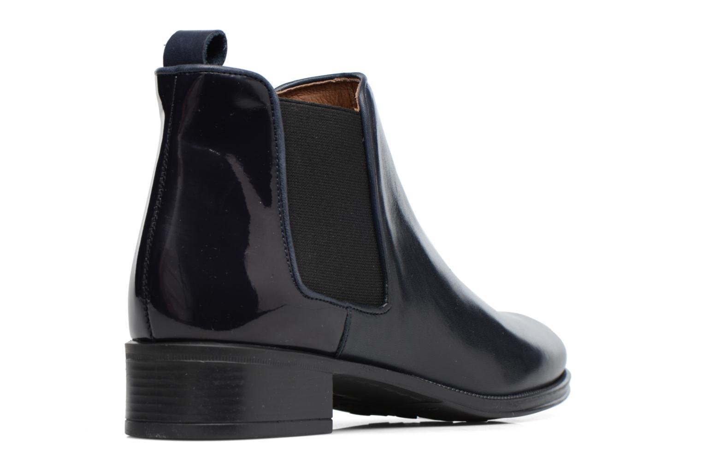 Bottines et boots Made by SARENZA Busy Girl Bottines Plates #4 Bleu vue face