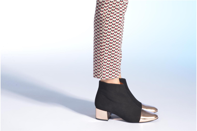 Stiefeletten & Boots Made by SARENZA Donut hut #7 schwarz ansicht von unten / tasche getragen