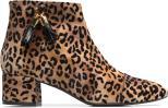 Flonce leopard + pampilles