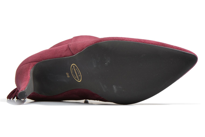 Bottines et boots Made by SARENZA Smoking Simone #5 Bordeaux vue gauche
