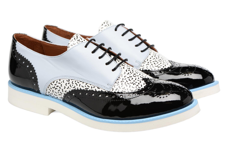 Zapatos con cordones Made by SARENZA Partygloo #3 Multicolor vistra trasera