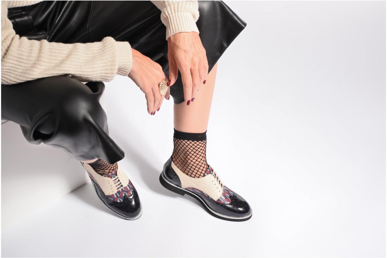 Schnürschuhe Made by SARENZA Partygloo #3 mehrfarbig ansicht von unten / tasche getragen