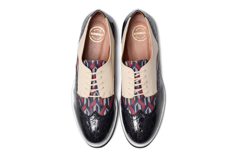 Zapatos con cordones Made by SARENZA Partygloo #3 Multicolor vista del modelo