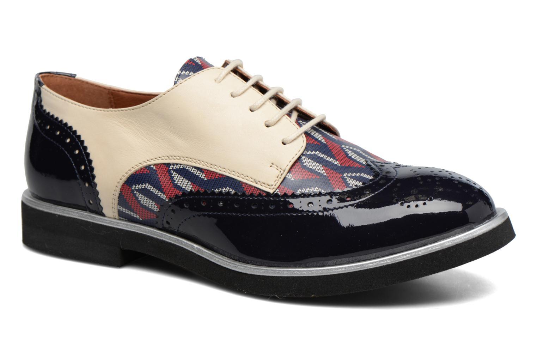 Zapatos con cordones Made by SARENZA Partygloo #3 Multicolor vista lateral derecha