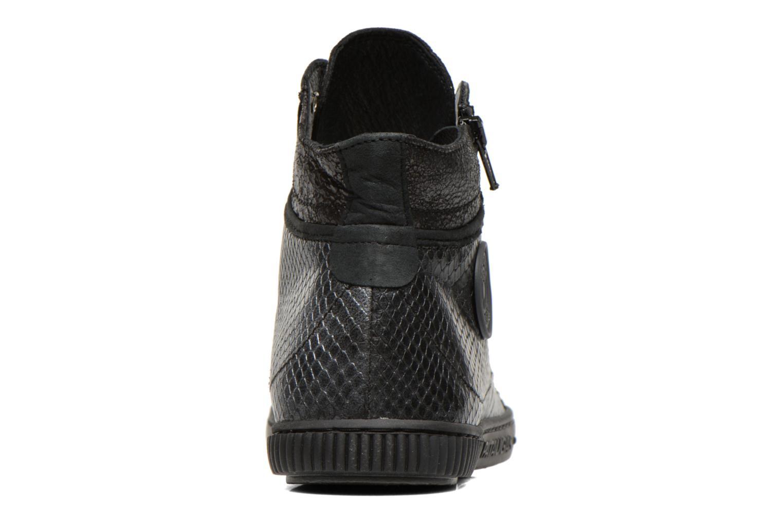 Baskets Pataugas Bono/S Noir vue droite