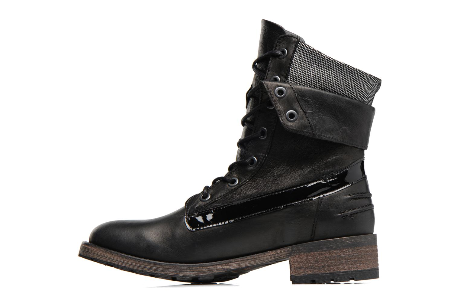 Ankle boots Pataugas Deday Black front view