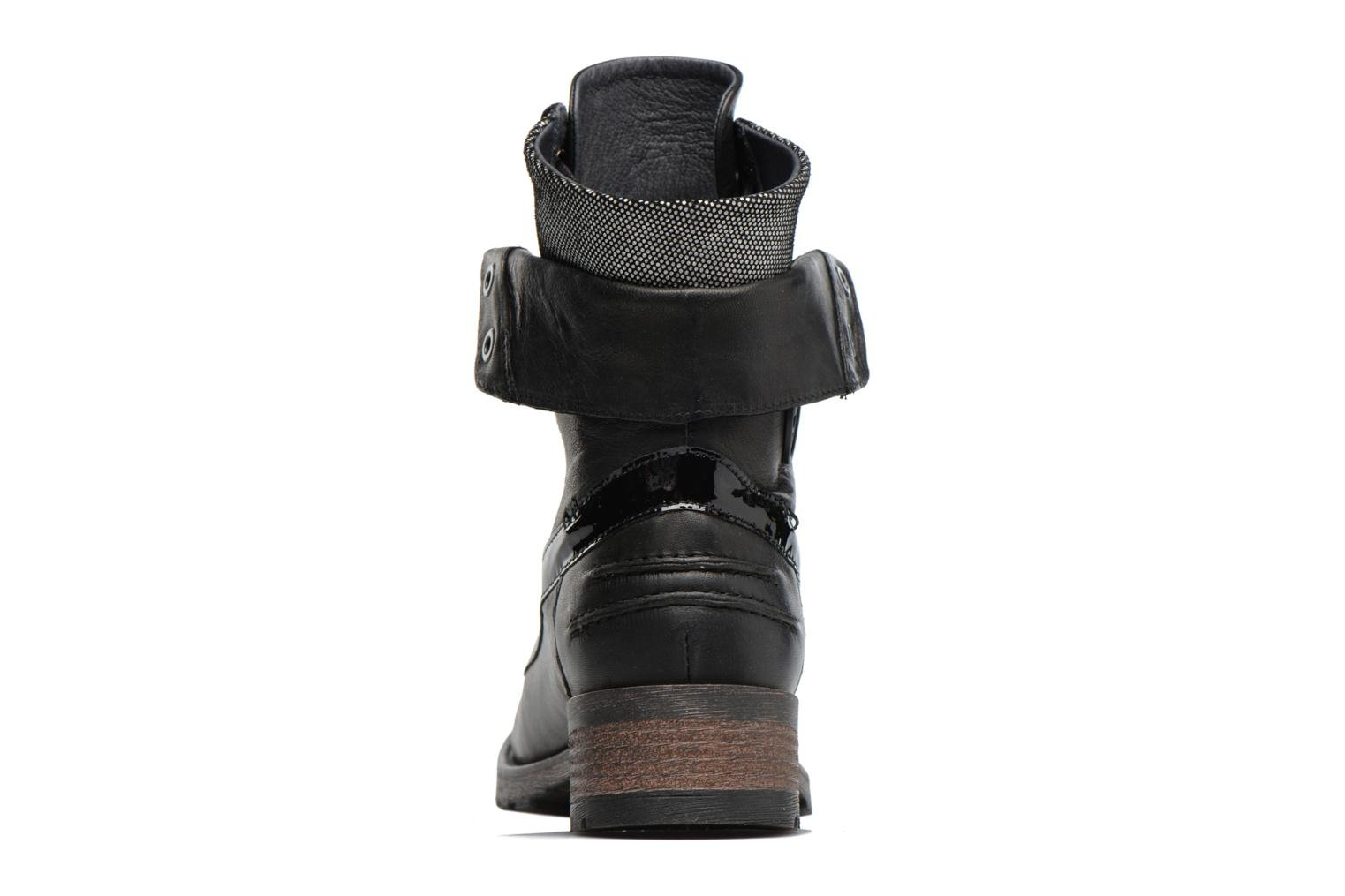 Ankle boots Pataugas Deday Black view from the right