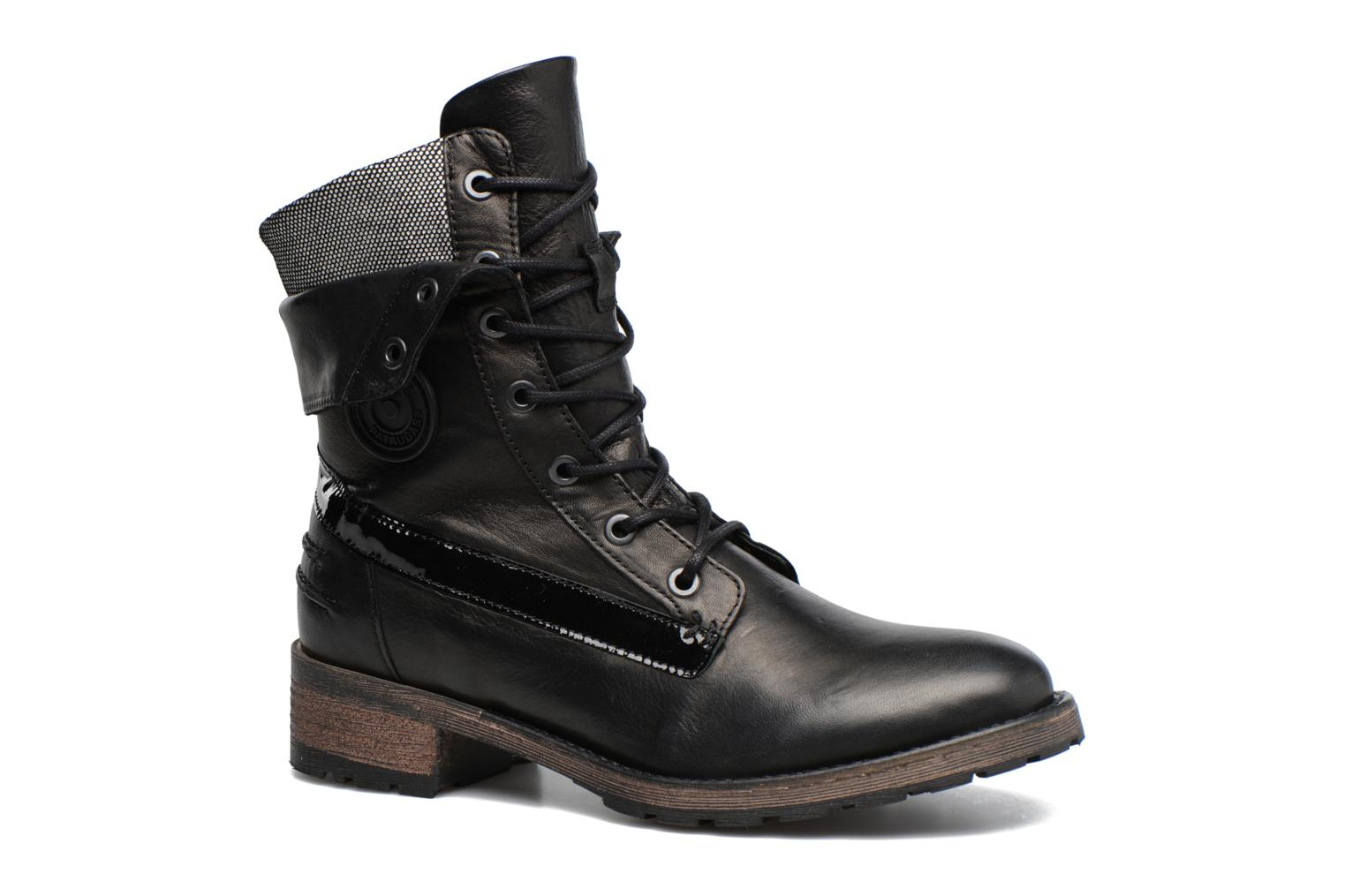 Ankle boots Pataugas Deday Black detailed view/ Pair view