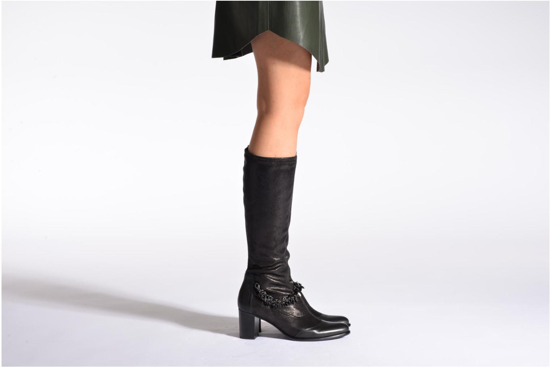 Stiefel Madison Arzeli schwarz ansicht von unten / tasche getragen