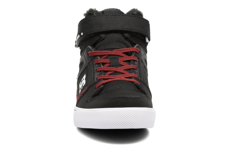 Baskets DC Shoes SPARTAN HIGH EV B Noir vue portées chaussures