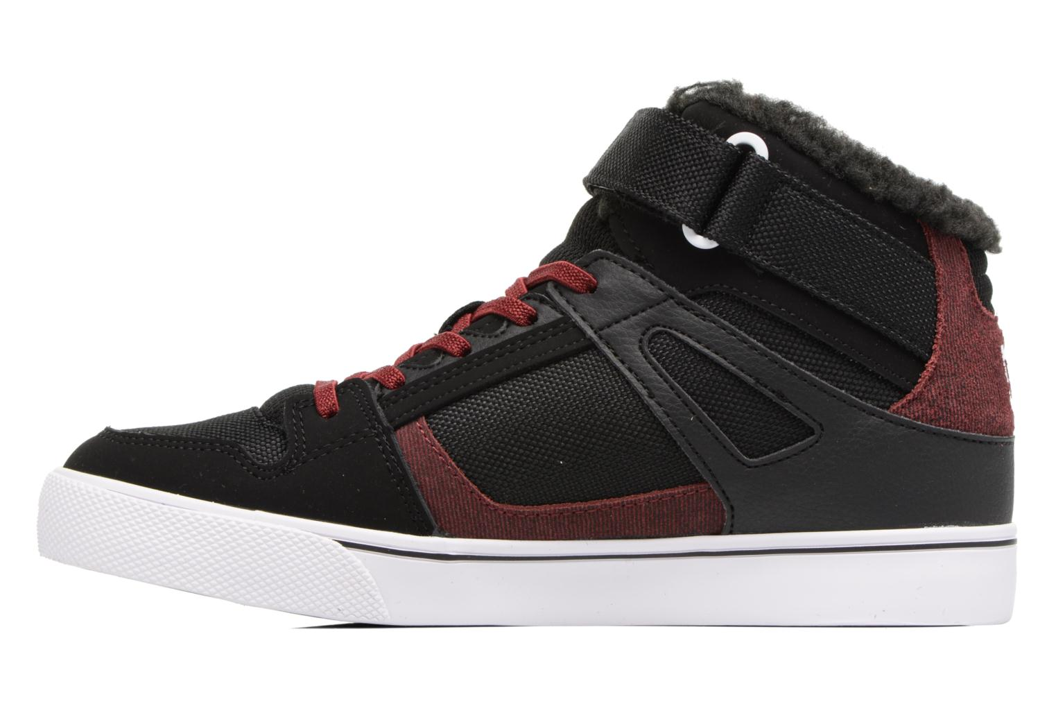 Deportivas DC Shoes SPARTAN HIGH EV B Negro vista de frente