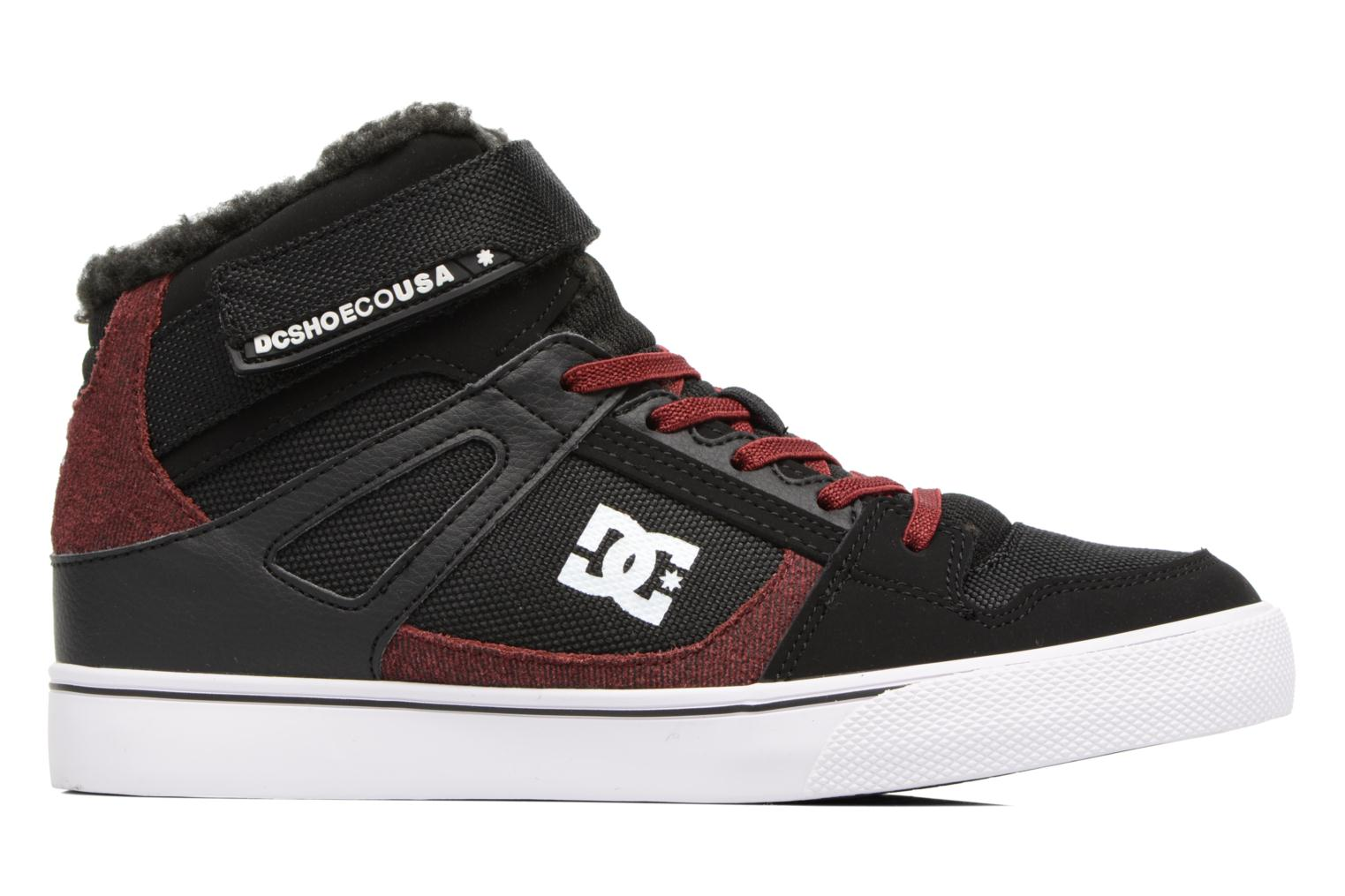 Deportivas DC Shoes SPARTAN HIGH EV B Negro vistra trasera