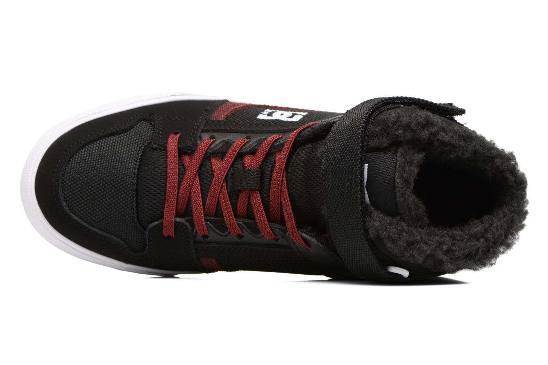 Baskets DC Shoes SPARTAN HIGH EV B Noir vue gauche