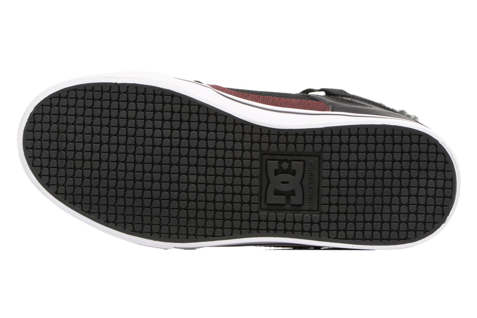 Deportivas DC Shoes SPARTAN HIGH EV B Negro vista de arriba